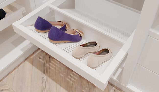 Półka na buty metalowa