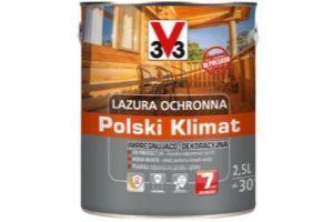 Lazura ochronna Polski Klimat Impregnująco-dekoracyjna zdjęcie